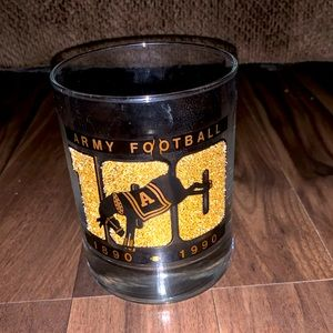 Other - Army black knights 1890-1990 football glass